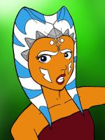 Star Wars: The Clone Wars Fan Art - Ahsoka Tano by icjaker