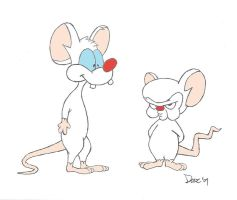 Pinky and The Brain by shadowlounge
