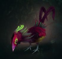 Rooster by Yasada