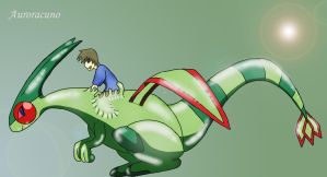 Absorbed by Rubber Flygon by Auroracuno