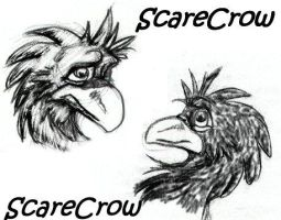 scarecrow by internalflames