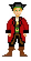 Flynn the Captain Pixel Version by acklaygohome