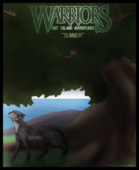 WARRIORS: Cat Island Adventures - Cover page by DigitalFroxe
