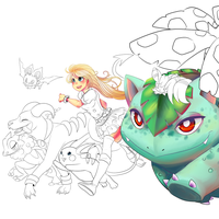 X and Y WIP by Mangopoptart