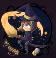 CW - Happy Halloween by Chikuto