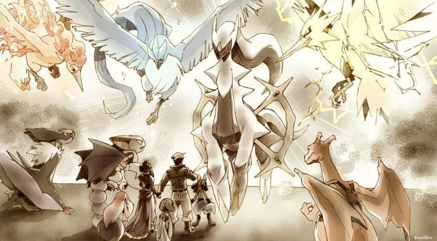 Arceus by twisted-wind