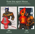 BADA$$ DUO BEFORE AND AFTER by Sabrerine911