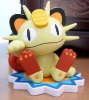 Meowth Pokedoll Figure by Fishlover