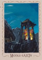Beacon of Gondor by jedipencil