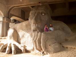 The Fremont Troll, Seattle by vanfoto