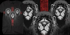 Lion Heart by Oblivion-design
