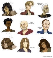 The First Law Characters by Viragom