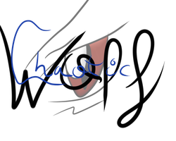 Chaotic Wolf -New Watermark and profile image- by DaniChaos234