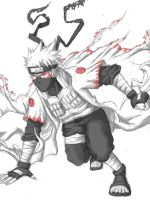 Kakashi Sage Mode by Aikira-chan