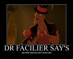 Dr Facilier motivational by Miss-Sweetlivvy
