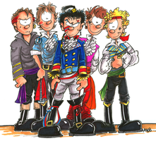 Adam and the Ants Prince Charming Phase by hankinstein