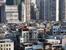 Slums of Macau by MandarinManMark