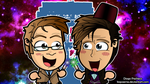 Doctor Who 50th Anniversary - Chibi Wallpaper by kapaeme