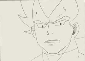 +Vegeta ANimation test 1+ by Gokuran