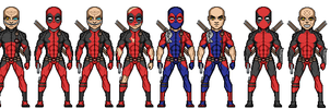 deadpools by uchiha1210