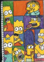 the simpsons by sammitysams