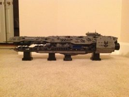Forward unto dawn Lego by JarrethGolding