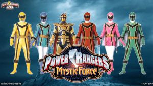 Power Rangers Mystic Force WP by jm511