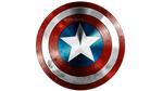 Captain America's shield by victter-le-fou