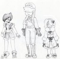 Sam and Sisters by GigaB00ts