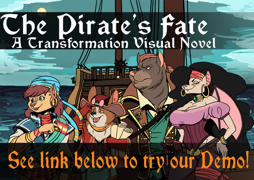 The Pirate's Fate - Next Patreon Project! by volkenfox