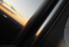 Steel Sunset 2 by Cattereia