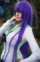 Saeko Busujima - Cosplay - Highschool of the Dead by CalypsoUchiha