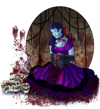 Private Exchange-Gothic n gore by roxxy-chan