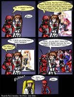 Deadpool and Nanoha issue 4 by Evil-Rick
