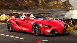 Toyota FT-1 Open Concept by x-tomi