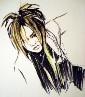 ruki with dreads by Jellybean0207