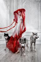 Bloody Riding Hood For Lashmaker Magazine 12 by FlexDreams