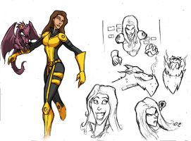 SHADOWCAT SKETCH by Sabrerine911