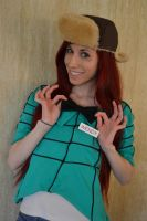 Bow-Tie: Wendy Corduroy Cosplay- Gravity Falls by RedVelvetCosplay