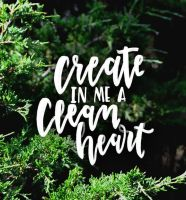 Psalm 51:10 by sailorjessi