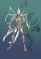 Eldar Redesign by Kharneth
