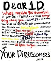 Letter to 1D by Softball-Directioner