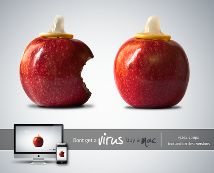dont get a virus buy a mac by LeMex