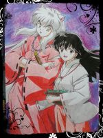 Inuyasha and Kagome by Michael1525