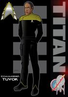 Commander Tuvok by stourangeau
