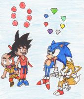 Sonic/Dragon Ball - Where it Started by Piplup88908