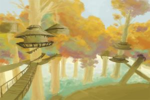 Treetown in perspective by Hobbes-Maxwell