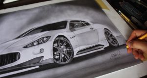 Maserati GT finish by Tomdal