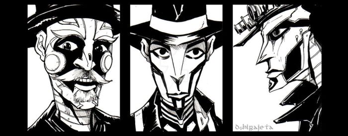 Steam Powered Giraffe by TheIronClown