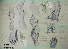 Hand Tutorial by Yuroboros